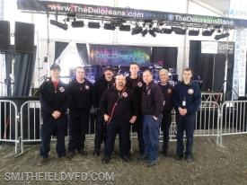 The crew from Station 50 that provided covage for 2019 Bob Fest Missing from the Photo is Battalion Chief 1 - Cody Hassell (Sorry about that Cody!)